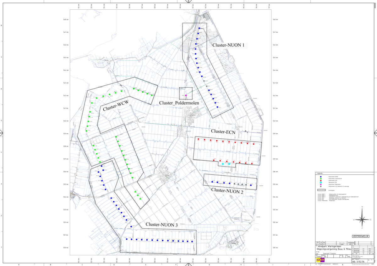 Final permits and national zoning plan for Wind farm Wieringermeer