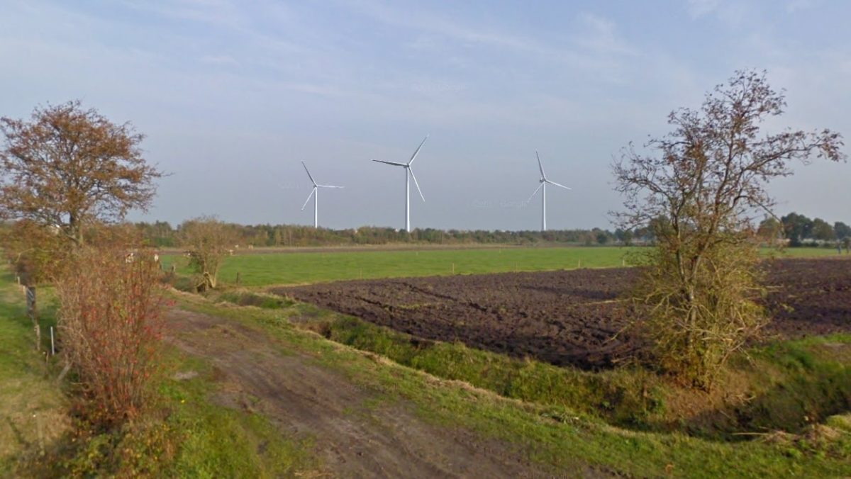 Declaration of no objections for Wind farm Bovenwind