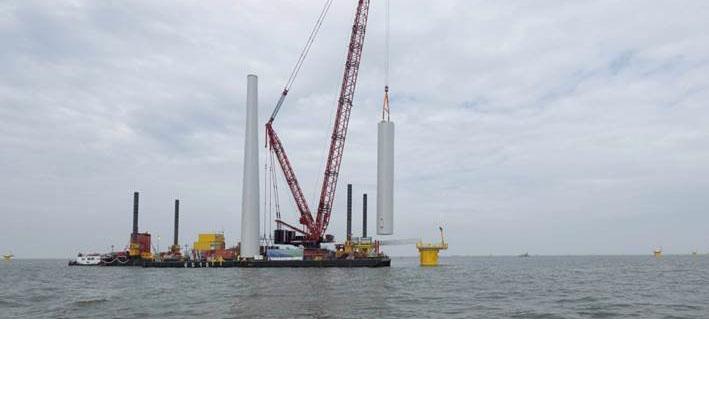 Bouw windturbines Westermeerwind van start