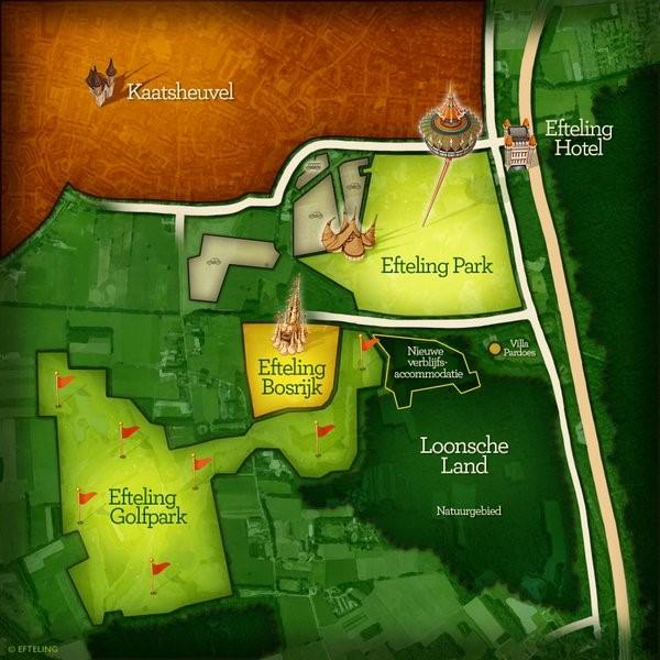 Pondera ondersteunt Efteling bij uitbreiding vakantiepark