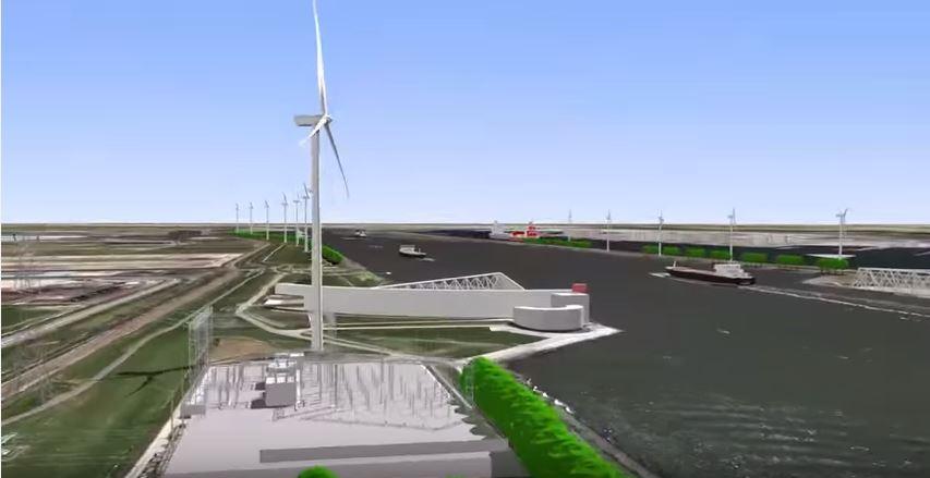 Positieve uitspraak Raad van State windpark Nieuwe Waterweg