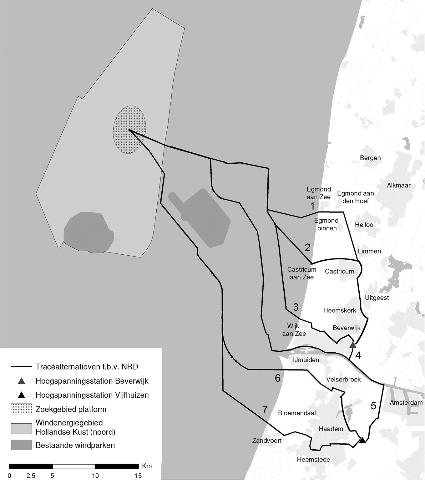Conceptnotities reikwijdte en detailniveau kavel V Hollandse Kust (noord) en net op zee ter inzage