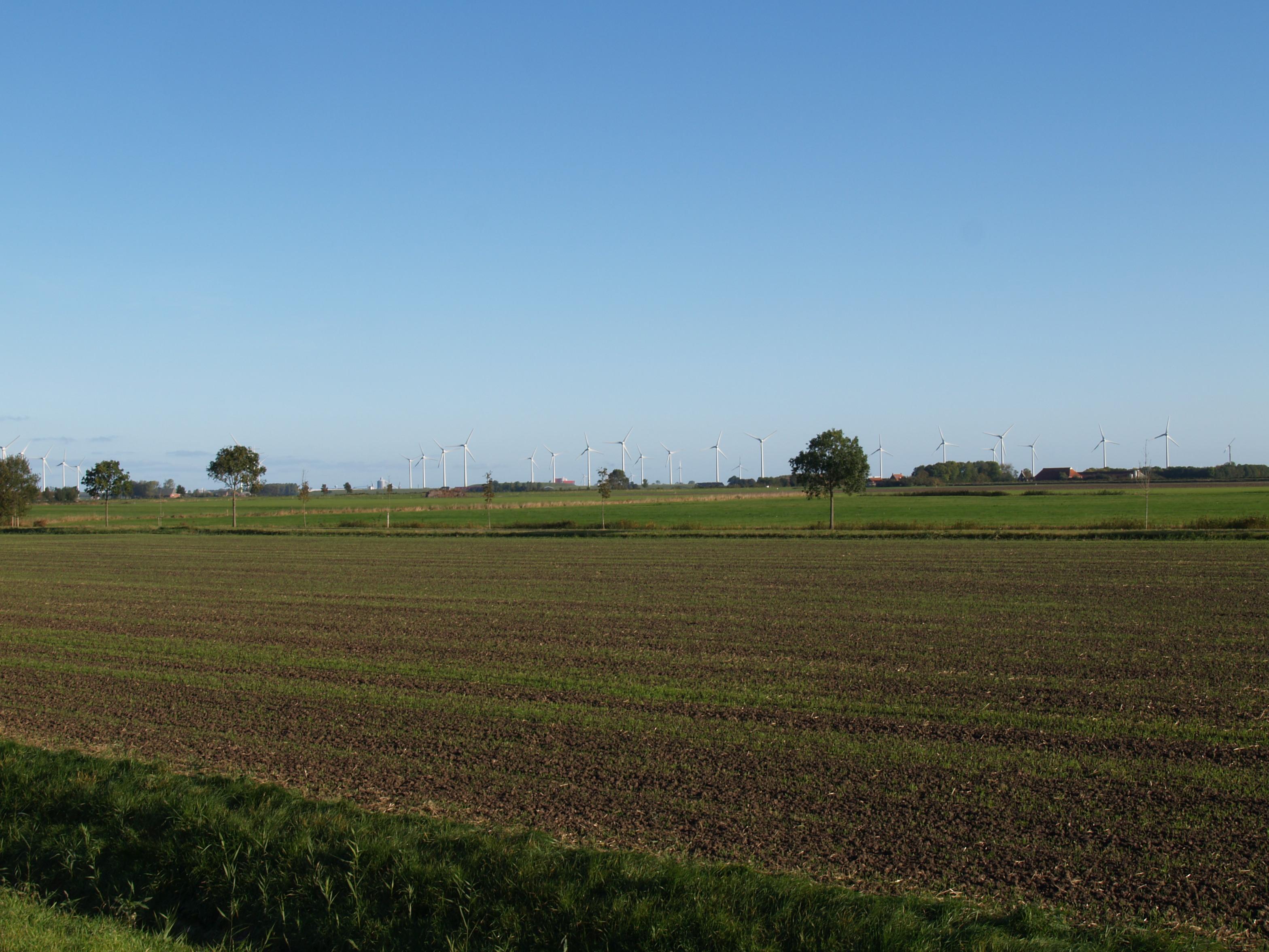 Provincie Groningen verleent vergunningen vijf windparken