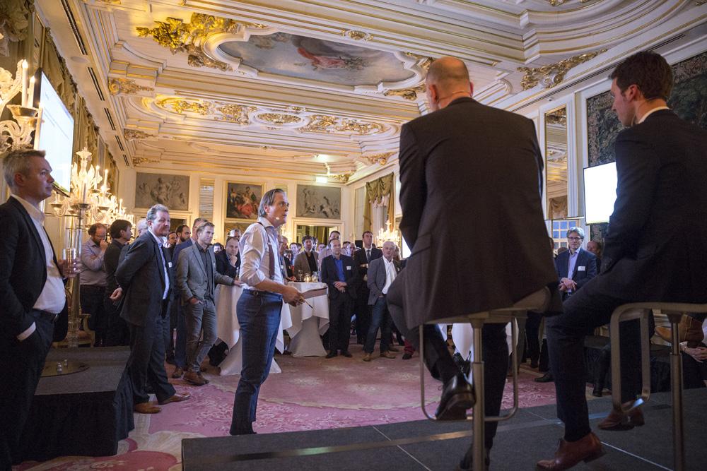 Jort Kelder luidt nieuwe jaar in met een energietransitie debat