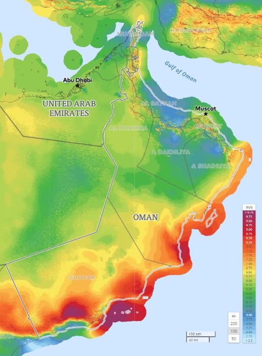 Onontdekte windenergie landen met veelbelovend potentieel