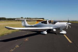 Afbeelding van een vliegtuig.