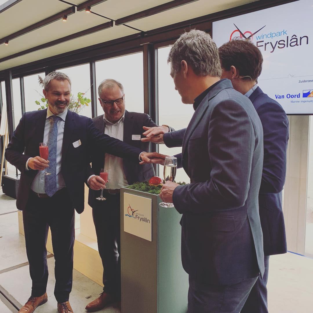 Bouw Windpark Fryslân officieel van start