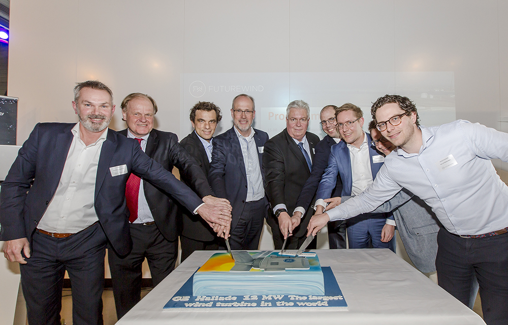 Groundbreaking Ceremony voor GE's Haliade-X 12 MW