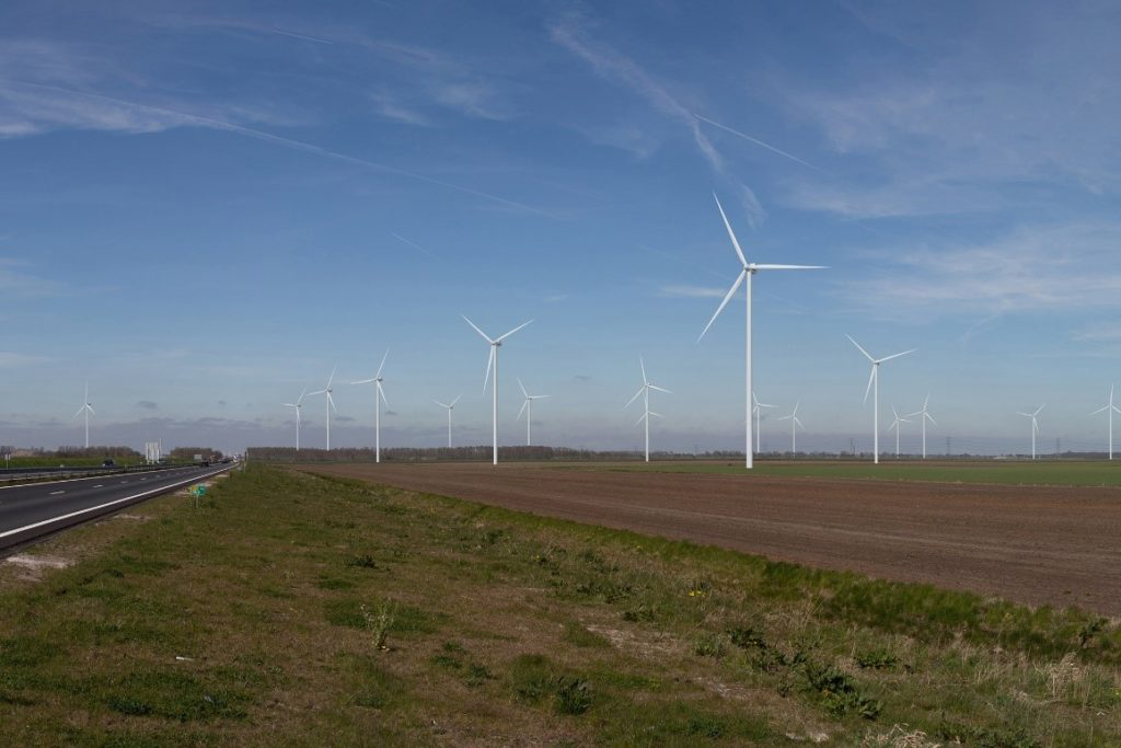 Visualisatie windpark N33