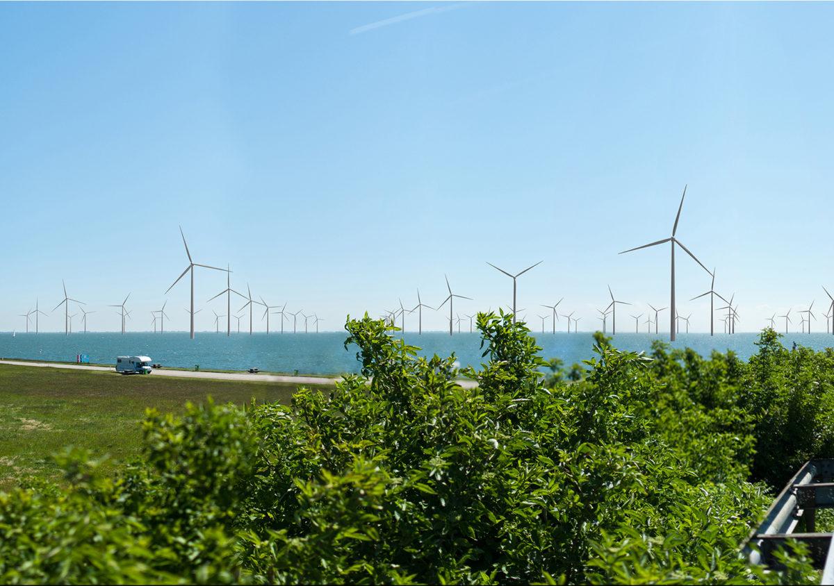 Eneco neemt stroom van Windpark Fryslân af