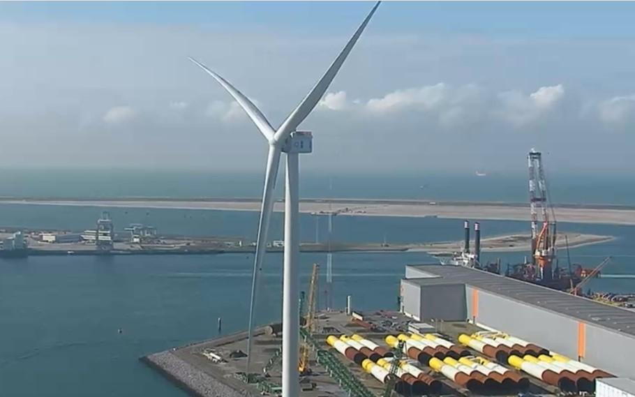 GE Haliade-X 12 MW levert eerste stroom