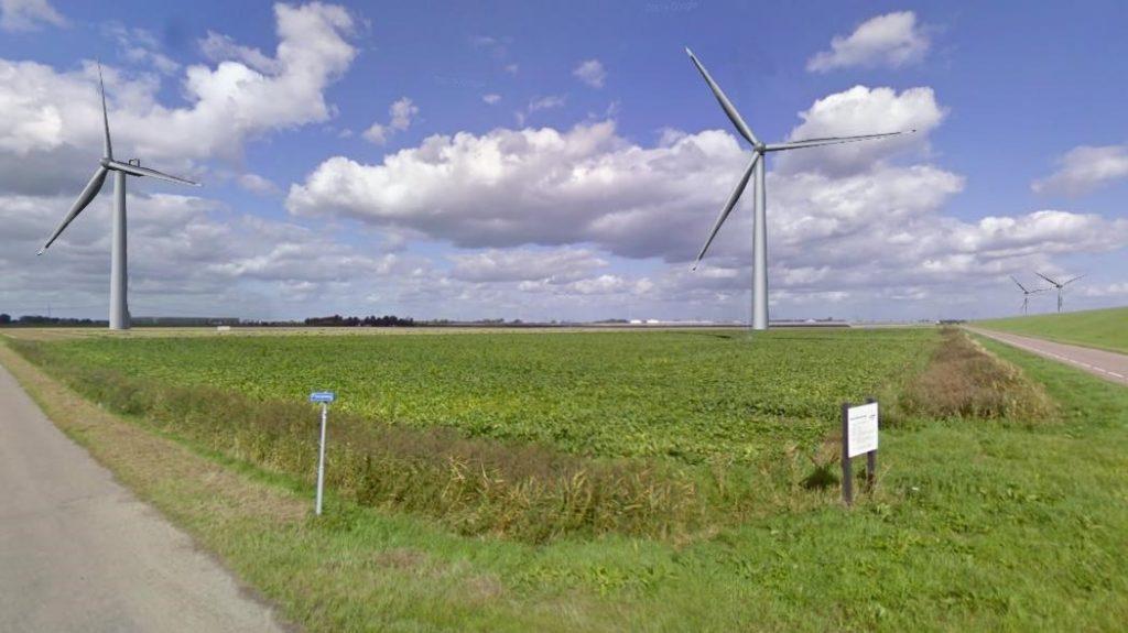 Visualisatie windpark WAP